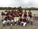 習志野市少年野球ジュニア大会第3位!!